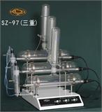 上海贤德自动三重纯水蒸馏器SZ-97【厂家直销】