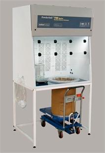 AirClean® Systems 的 PowderSafe™桶量处理工作台