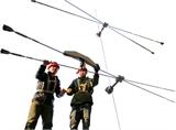 预应力钢索张力检测装置 拉线测力仪 钢索张力仪