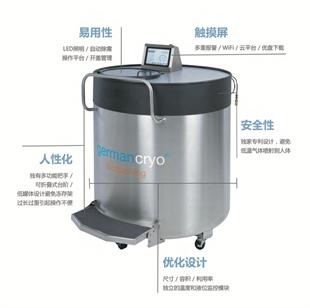 german-cryo德曼气相液氮罐