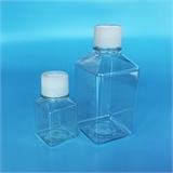方形塑料血清瓶 pete培养基方瓶