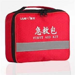 急救包(蓝夫LF-12002)户外旅行救援包汽车便携应急包
