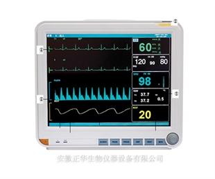 多参数监护仪大小鼠脉搏血氧呼吸监护仪 小动物多功能监护仪