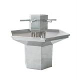 不锈钢六角水槽