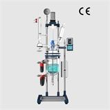 郑州长城科工贸实验室仪器5L双层玻璃反应釜带CE认证