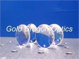 12B石英BCX-JGS1双凸球面镜/石英双凸透镜
