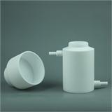 四氟布氏漏斗可与吸滤瓶配套实验