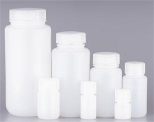 本色HDPE广口试剂瓶系列