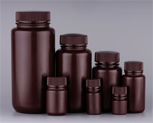 棕色HDPE广口试剂瓶系列