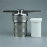 小型反应器水热合成反应釜内杯直筒/翻边+不锈钢外套