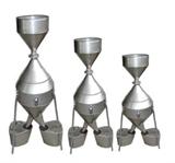 钟鼎式分样器(不锈钢) 粮油仪器