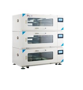 三层组合式光照振荡培养箱